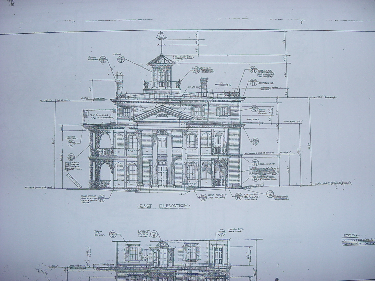 New Orleans Square Blueprints