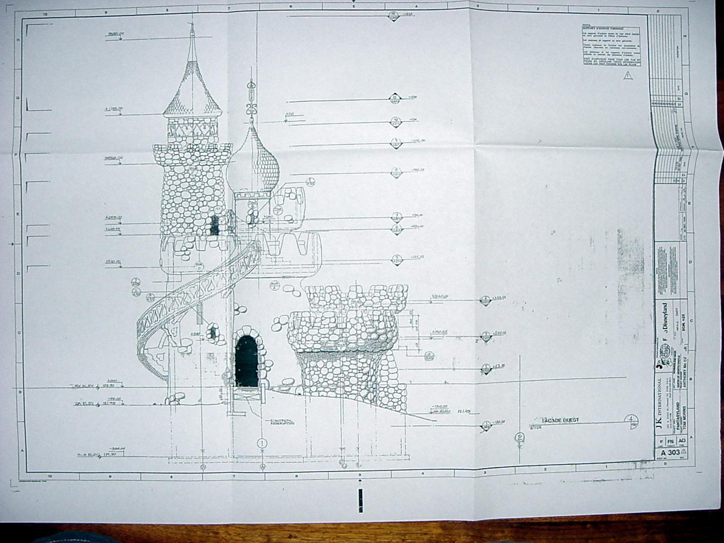Inspiring blueprint of castle 23 photo home plans for Castle blueprints